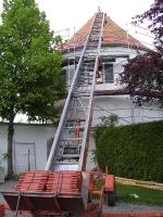 Pfadfinderturm neues Dach