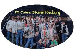 Jubiläumslager 75 Jahre Stamm Neuburg