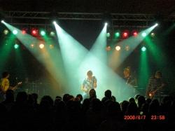 Pfadis in Wallerestein auf Konzert